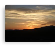 Golden Sunset Over Malin 2 Canvas Print