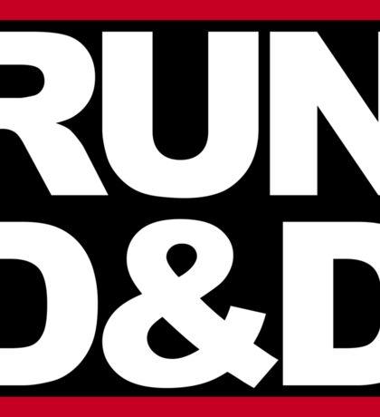 Run D&D Sticker