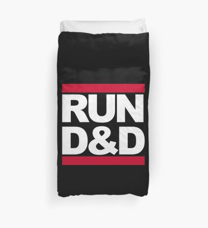 Run D&D Duvet Cover