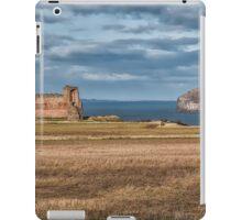 Tantallon Castle and Bass Rock iPad Case/Skin