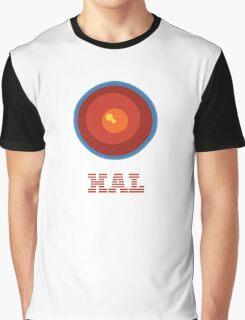 HAL 9000 Design Graphic T-Shirt