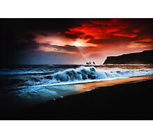 Vik Textured Photographic Print