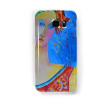Female portraiture unique oil painting Samsung Galaxy Case/Skin