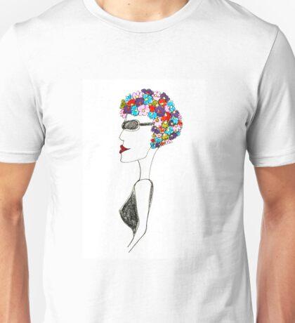Happiness = 1930s swimming cap Unisex T-Shirt
