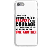 DIVERGENT - COURAGE iPhone Case/Skin