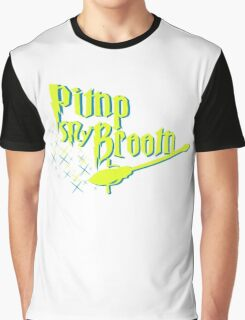 Broom Pimping Graphic T-Shirt