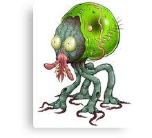 Tick Monster Canvas Print