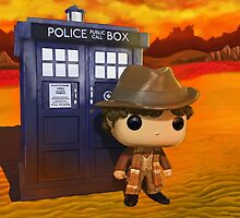 4th Doctor On Gallifrey by Nesshead