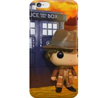 4th Doctor On Gallifrey iPhone Case/Skin