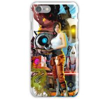 Portal 2 Characters iPhone Case/Skin