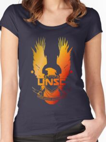 Halo - UNSC Women's Fitted Scoop T-Shirt
