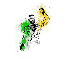 mma fighter Photographic Print