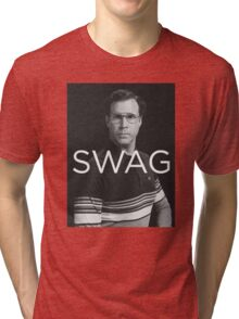 Will Ferrell Swag Tri-blend T-Shirt