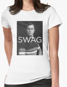 Will Ferrell Swag Womens Fitted T-Shirt