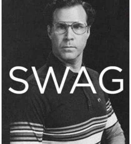 Will Ferrell Swag Sticker