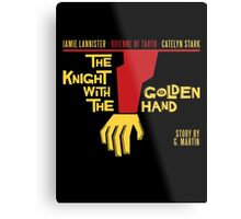 The Knight with the Golden Hand Metal Print