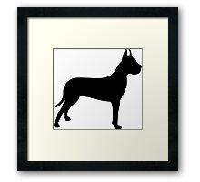 Great Dane Dog Framed Print
