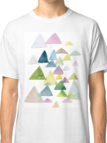 Forest Morning n Watercolor Classic T-Shirt
