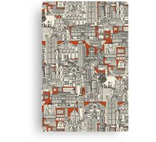Hong Kong toile de jouy Canvas Print