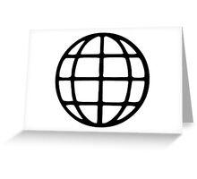 Global Symbol Greeting Card