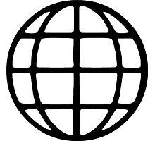 Global Symbol Photographic Print