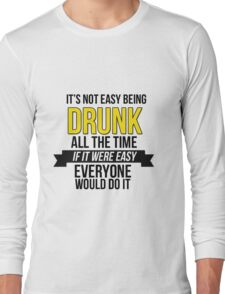 GAME OF THRONES - DRUNK Long Sleeve T-Shirt