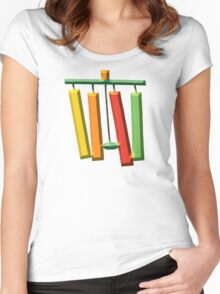 MUSICAL CHIMES Women's Fitted Scoop T-Shirt