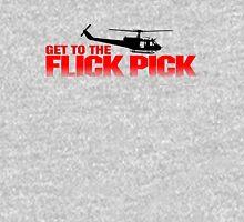 Get To The Flick Pick - Predator Parody  Unisex T-Shirt