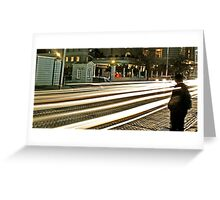 City lights i Greeting Card