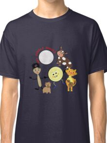 Hey Diddle Diddle Kids Nursery Rhyme Picture Classic T-Shirt