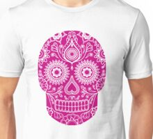 mexican skull mask Unisex T-Shirt