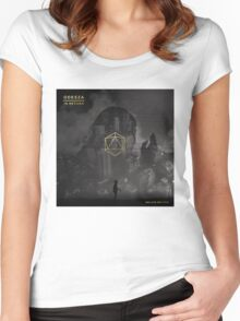 Odesza Black & White Women's Fitted Scoop T-Shirt