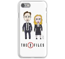The X - Files iPhone Case/Skin