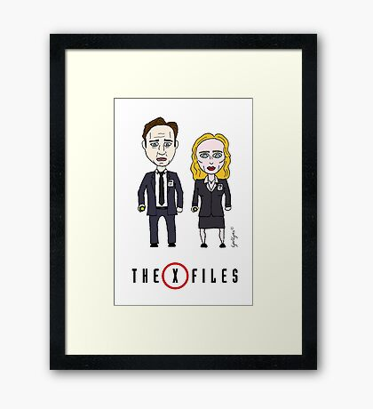 The X - Files Framed Print