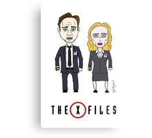 The X - Files Metal Print