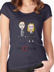 The X - Files Women's Fitted Scoop T-Shirt