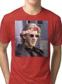 Dylan klebold flower crown. Tri-blend T-Shirt