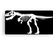 Tyrannosaurus Rex Dinosaur Skeleton Canvas Print