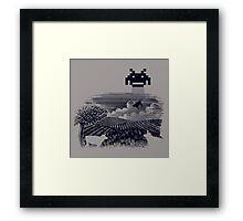 Cownapped Framed Print