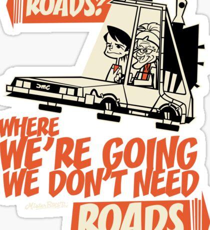 Roads Sticker