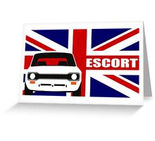 MK 1 ESCORT RS 1800 2000 MEXICO MEN'S T-SHIRTS Greeting Card