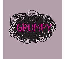 Grumpy Photographic Print