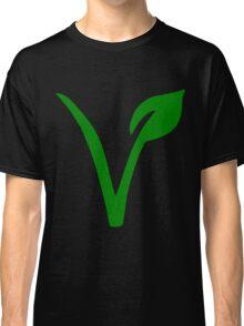 Vegetarian Symbol Classic T-Shirt