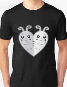 Cute rabbit-heart Unisex T-Shirt