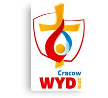 World Youth Day 2016 in Cracow logo Canvas Print