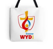 World Youth Day 2016 in Cracow logo Tote Bag