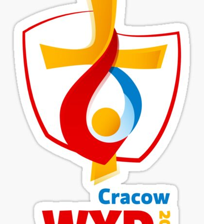 World Youth Day 2016 in Cracow logo Sticker