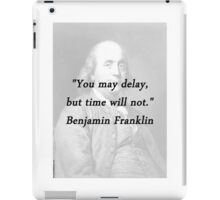 Franklin - Delay iPad Case/Skin