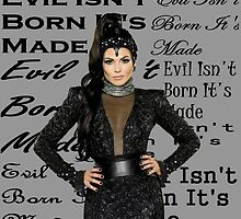 Lana Parrilla (evil isn't born it's made) by AliciaMills