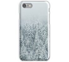 Forest Snow Fir Trees iPhone Case/Skin